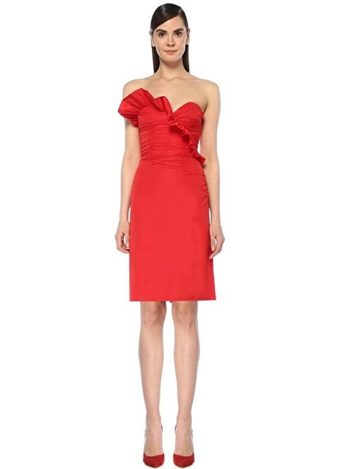 Alexa Chung for AG Elbise Kırmızı
